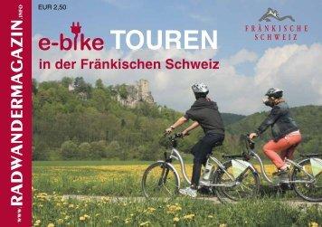 E-Bike-Tourenheft - Die Fränkische Schweiz