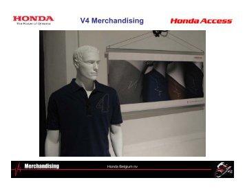 V4 Merchandising - Honda