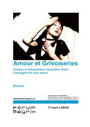 Amour et Grivoiseries.pdf - Forum-Meyrin