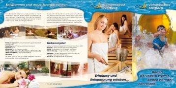Infos unter www.jo-bad.de Genießen Sie mit allen ... - Freiberg-Service