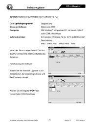 Softwareupdate - FTE Maximal