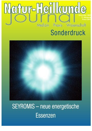 Sonderdruck - Naturheilkunde Journal