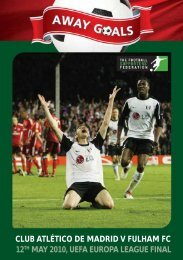 club atlético de madrid v fulham fc 12th may 2010, uefa europa