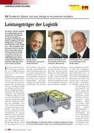 Leistungsträger der Logistik - FM