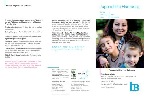 Jugendhilfe Hamburg