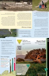Download NEW! Fort Ord Map and Pamphlet (pdf) - FORT Friends