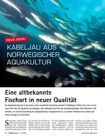 Eine altbekannte Fischart in neuer Qualität - fischmagazin.de