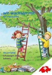 Schulungskatalog Schweiz 2013 - Frühkindliche Bildung in der ...