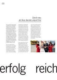 Zürich neu ab blue danube airport linz 03 - Flughafen Linz
