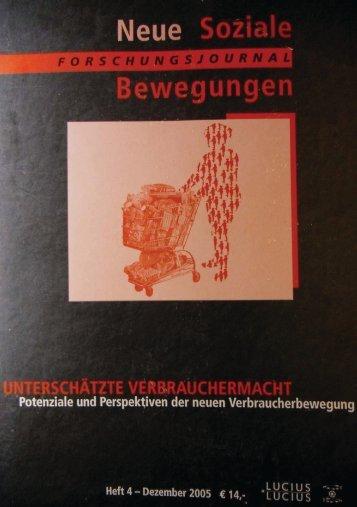 Vollversion (4.67 MB) - Forschungsjournal Soziale Bewegungen