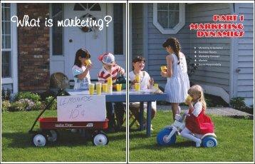 What is marketing? - Goodheart-Willcox