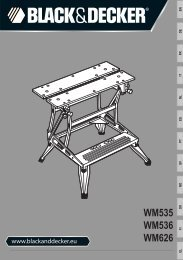 WM535 WM536 WM626 - Service