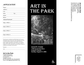 Art in the Park Artist Brochure - Final.pdf - Freeport Park District