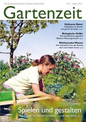 Nr. 3 August 2010, PDF 1.02 MB - Winkler & Richard AG
