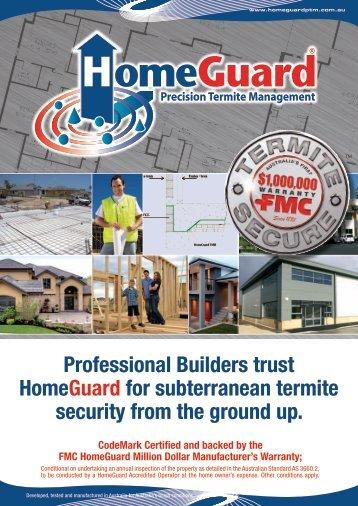 Professional Builders trust HomeGuard for subterranean ... - Garrards
