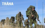 TRÄNA - Försvarsmakten