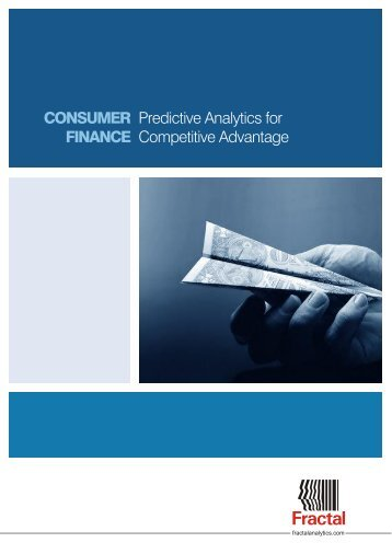 Consumer Finance - Fractal Analytics