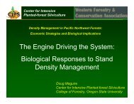 The Engine Driving the System - Oregon State University