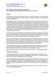 Ev. Jugendhilfe Friedenshort GmbH - HEIMAT ... - Friedenshort.de