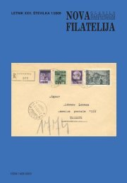 NOVA FILATELIJA - Filatelistična zveza Slovenije