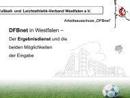Anleitung für den Ergebnisdienst - FLVW Kreis Paderborn