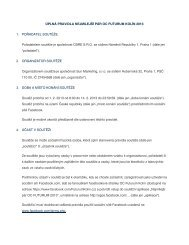 Podrobná pravidla akce naleznete zde - OC Futurum Kolín