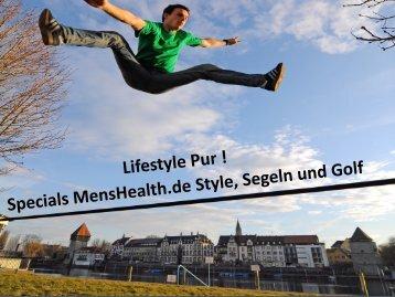 Exklusives Sponsoring der Menshealth.de Style-Rubrik