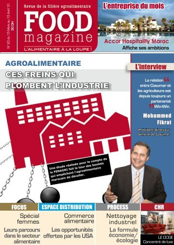 CES FREINS QUI PLOMBENT L'INDUSTRIE - FOOD MAGAZINE