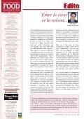 CES FREINS QUI PLOMBENT L'INDUSTRIE - FOOD MAGAZINE - Page 3