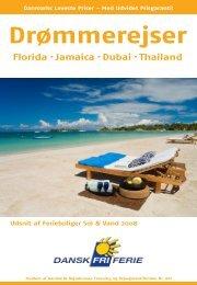 Florida · Jamaica · Dubai · Thailand - Dansk Fri Ferie
