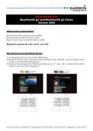 RÜCKRUFAKTION BlueChart® g2 und BlueChart ... - Freytag & Berndt