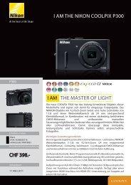 I AM THE NIKON COOLPIX P300 THE MASTER ... - Foto Basler Aarau