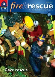 Cave rescue - New Zealand Fire Service