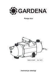 OM, Gardena, Pompa duo, Art 01471-20, 2004-01