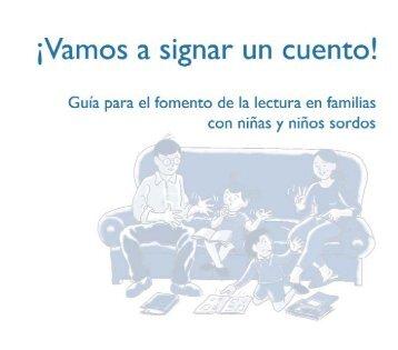¡Vamos a signar un cuento! - Fundación CNSE