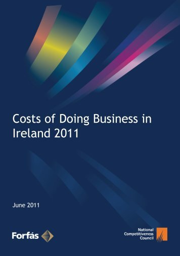 Costs of business in Ireland - The National Competitiveness Council
