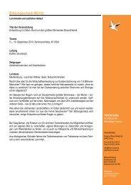 Programm Mueritz 2010 - Forum Unna