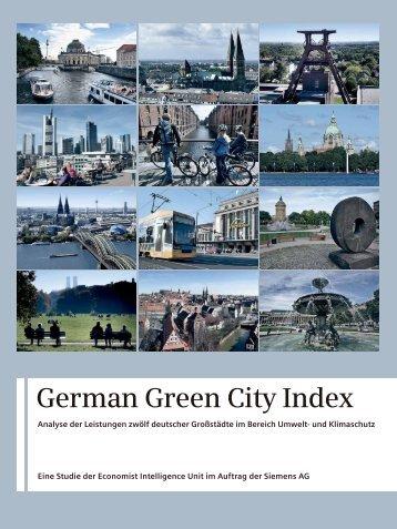 German Green City Index - Frankfurt Green City