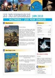 LES INDISPENSABLES JUIN 2010 - Colaco