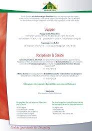 Suppen Vorspeisen & Salate - gastro-tipp.ch