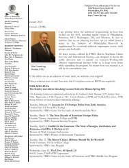 View pdf of this message - Foreign Policy Research Institute