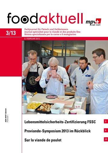 Lebensmittelsicherheits-Zertifizierung FSSC ... - Foodaktuell.ch