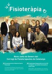 Noticiari 59 en format PDF - Col·legi de Fisioterapeutes de Catalunya