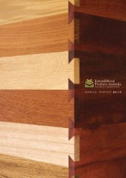 ANNUAL REPORT 09/10 - Forest and Wood Products Australia
