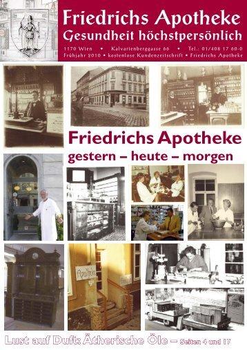 Frühjahr 2010 - Friedrichs Apotheke