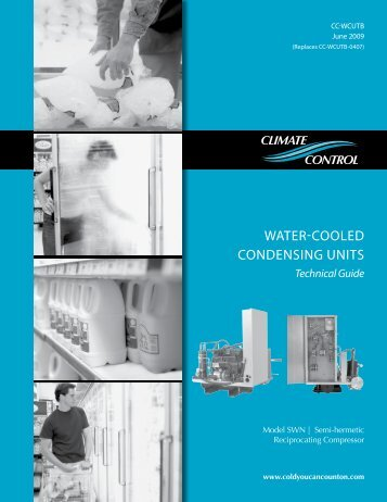 Climate Control .75-22HP Water Cooled Cond Unit