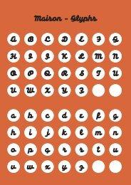 Download Ht Maison PDF - FontShop