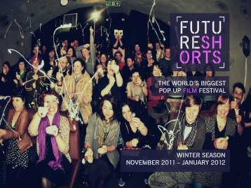 january 2012 the world's biggest pop up film festival