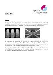 Markus Heide rkus Heide rkus Heide - Galerie im Treppenhaus