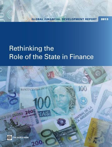 Rethinking the Role of the State in Finance - Financial Risk and ...